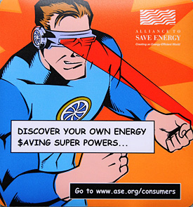 Energy Saving Super Powers