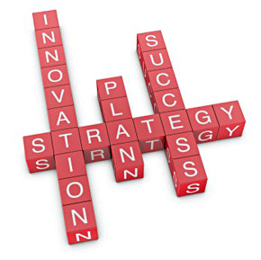 innovation + strategy = success
