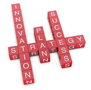 innovation + strategy = success